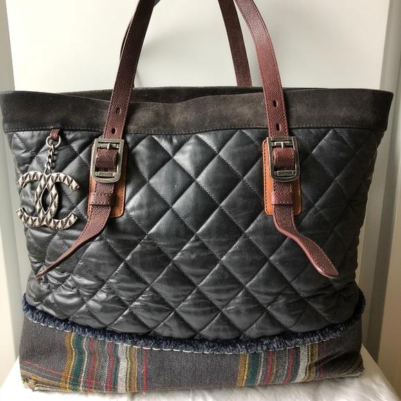 a8261e5bec70ec CHANEL Bags   2012 Paris Edinburgh Grand Shopping Tote   Poshmark